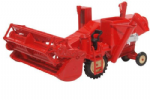 Oxford Diecast 76CHV001 Combine Harvester Red